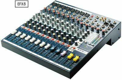 Soundcraft Equipped with effector/Analog Mixer EFX8