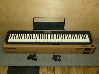 Casio CDP-S350bk - 88 Keys Digital Stage Piano - Excellent Condition - FREE POST