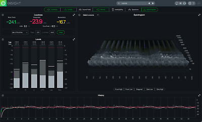 New Izotope Insight 2 Metering Software for Music and Post Production/Mac and PC
