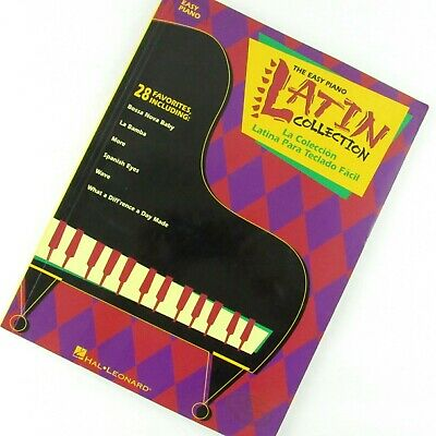 The Easy Piano Latin Collection Songbook 28 Favorites Hal Leonard Music Book