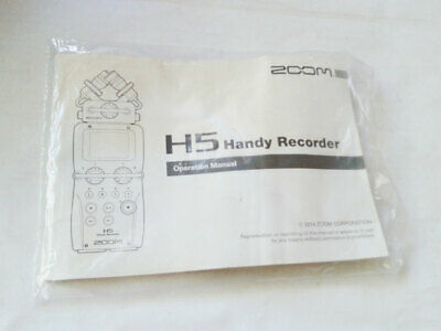 Manual for Zoom H5 Handy Recorder