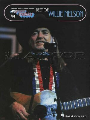 Best of Willie Nelson E-Z Play Today Keyboard Sheet Music Book SAME DAY DISPATCH
