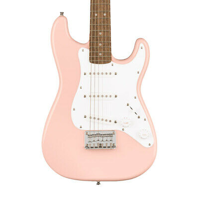Fender Squier Mini Stratocaster, Shell Pink (NEW)