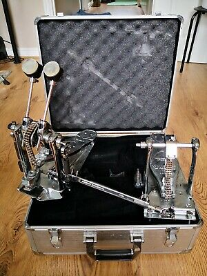 Limited edition Chrome Iron Cobra 900 double pedal