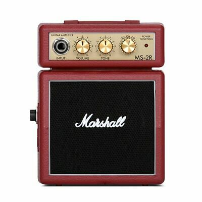 Marshall MS-2R Micro Amp - Red