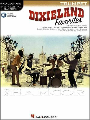 Dixieland Favorites Jazz Instrumental Play-Along for Trumpet Music Book & Audio