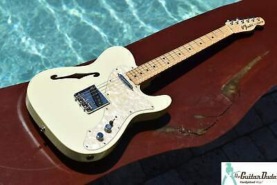 2005 NAMM Exclusive Fender Custom Shop '69 Telecaster Thinline Olympic White