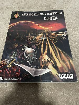 Avenged Sevenfold: City Of Evil - Guitar Recorded Versions by Hal Leonard...