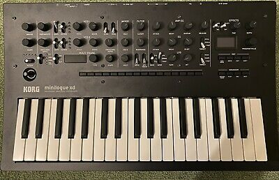 Korg Minilogue XD Polyphonic Analog Synthesizer (almost brand new)