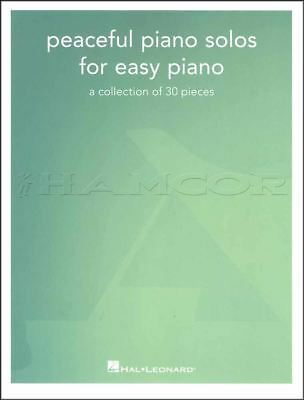 Peaceful Piano Solos for Easy Piano Sheet Music Book