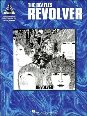 The Beatles Revolver Guitar Recorded Versions TAB Music Book SAME DAY DISPATCH