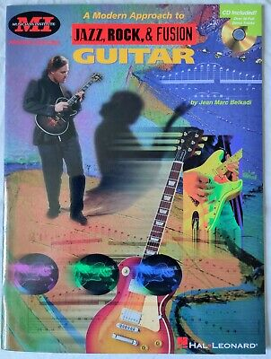 A Modern Approach to Jazz Rock & Fusion Guitar - TAB Music Book with Audio CD