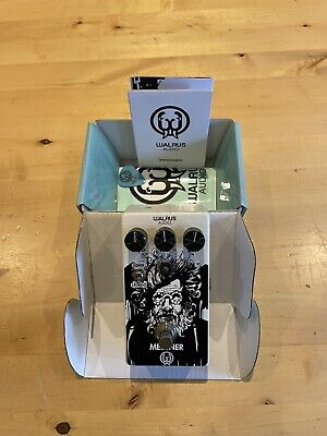 Walrus Audio - Messner - Low Gain Transparent Overdrive Pedal - Rare Pedal