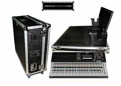 YAMAHA TF5 Mixer Case W/DHC HEAVY DUTY Road Case Made In USA • 384.69£
