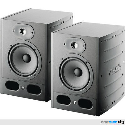 Focal Alpha 65 Active Studio Monitors (Pair) X2, No Amp Required • 529£