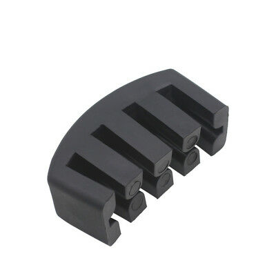 Black Ultra Heavy Rubber Practice Mute For 3/4 - 4/4 Size Cello Quality Part • 3.90£