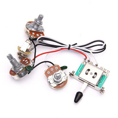 Wiring Harness 1V2T 1 Jack 5 Way Switch For Fender  Electric Guitar • 7.73£