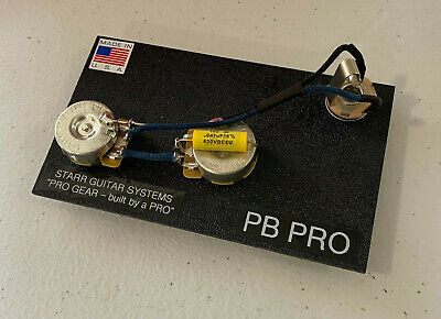 Fender P-Bass Electronics Upgrade! CTS Vintage & Mallory .047 cap!