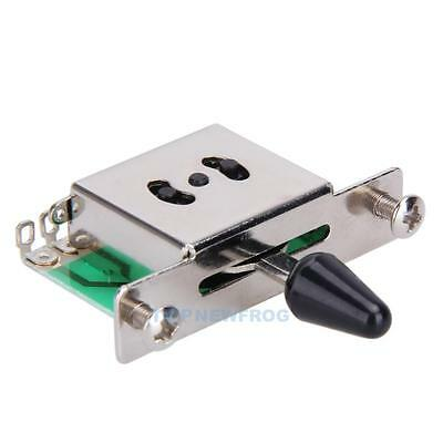 5-Way Guitar Pickup Selector Switch Toggle Leaver Switches For Fender Tele Strat • 3.72£
