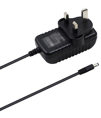 AC/DC PSU Wall Power Supply Adapter 12v For TC Helicon Voicelive Touch 2 • 4.55£