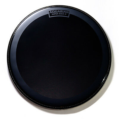 Aquarian Reflector Bass Drumhead 18  W/ Superkick Ring - REF18SK • 35.73£