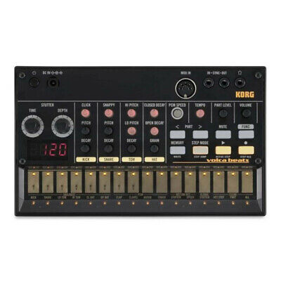 Korg Volca Beats Analogue Rhythm Drum Machine • 139£