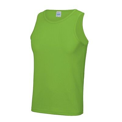 Cool Gym Vest 20 Colours And 5 Sizes, Perfect For Gym Workouts  Free P&p • 7.95£