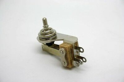 SWITCHCRAFT Angle Toggle Switch 3 Way Pickup For Gibson Sg FENDER JAZZMASTER • 22.41£