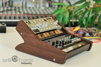 Korg Volca Duo Real Wood Stand Holder Tier Rack Stand Bass Sample Beats Keys Fm • 49.12£
