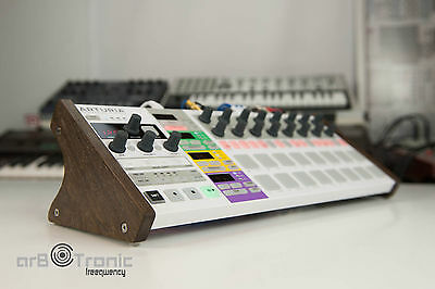 Arturia Beatstep Pro High Real Wood Stand Side Panel Desktop Stand Eurorack Do • 55.89£