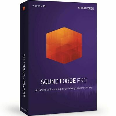 MAGIX Sound Forge Pro 13 Academic Download Audio Waveform Editor Software *New* • 153.91£