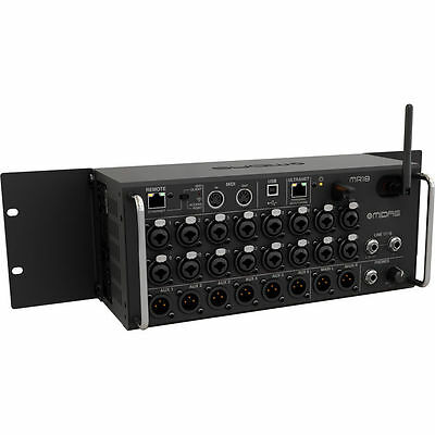 Midas MR18 18-Input Digital Mixer For Tablets W/ Wi-Fi And USB Recorder NEW • 942.31£