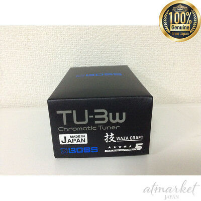 BOSS WAZA CRAFT TU-3W MADE IN JAPAN Chromatic Tuner Free Shipping From JAPAN • 128.80£