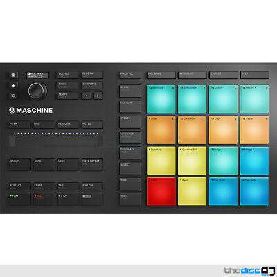 Native Instruments Maschine Mikro MK3 & Komplete Essentials Software Plugins • 199£