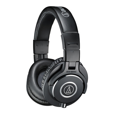 Audio Technica ATH-M40X Closed Back Studio Monitor Headphones - Black • 89£