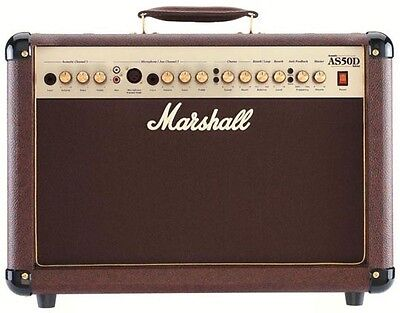Marshall AS50D Acoustic Guitar Amplifier • 299£
