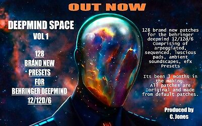 Behringer Deepmind 12/12d/6 Soundset (deepmind Space Vol 1) Download • 9.99£