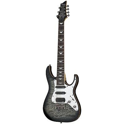 Schecter Banshee-7 Extreme Charcoal Burst CB B-Stock 7-String Electric Guitar • 355.96£