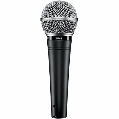 Shure SM48-LC Handheld Vocal Microphone W/Internal ShockMount,BuiltIn Pop Filter • 34.20£