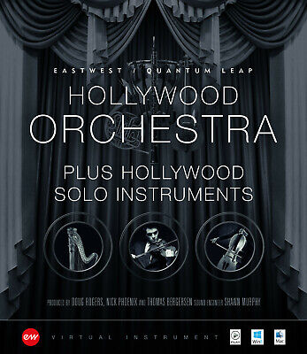 EastWest Hollywood Orchestra Plus Solo Instruments Gold Edition Mac PC  • 608.74£
