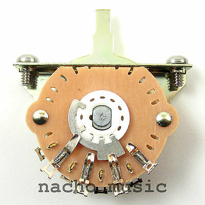 Oak Grigsby 3 Way Switch For Fender Telecaster And Pre-1977 Stratocaster • 5.19£