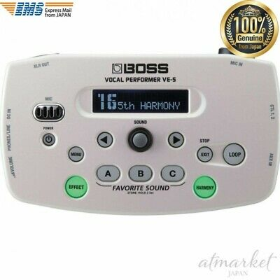 BOSS Vocal Performer VE-5-WH White Effect Live Performance From JAPAN • 224.88£
