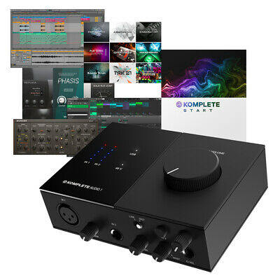 Native Instruments Komplete Audio 1 USB Interface + Maschine Essentials Software • 99£