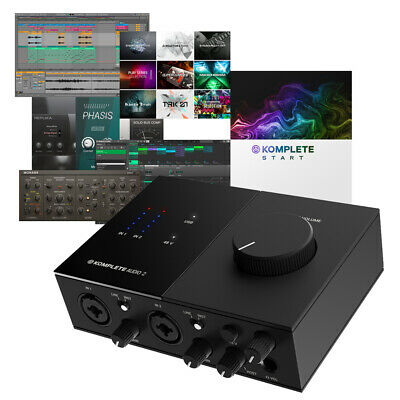 Native Instruments Komplete Audio 2 Interface + Maschine Essentials Software • 119£