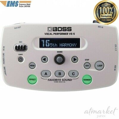 BOSS Vocal Performer VE-5-WH White Effect Live Performance From JAPAN • 239.35£