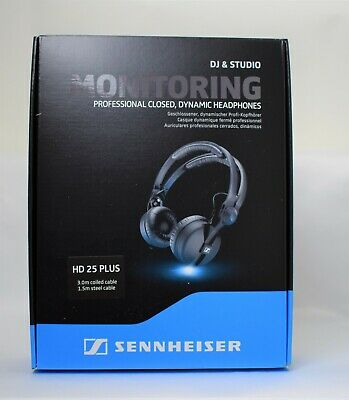 SENNHEISER-HD25 PLUS Headphones / FREE-SHIPPING • 211.64£