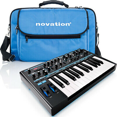 Novation Bass Station II Analogue Synthesizer + Official Bag And Ableton Lite • 425£
