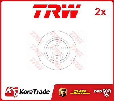 2x DF6339 TRW OE QUALITY BRAKE DISC SET • 84£