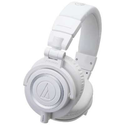 Audio-technica-ATH-M50x WH Headphones / FREE-SHIPPING • 196.33£