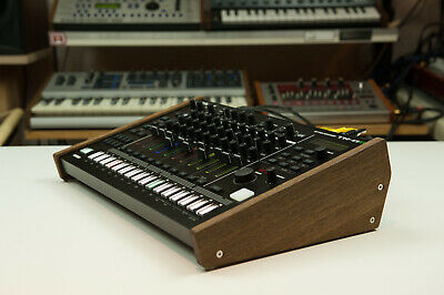New! Roland Tr-8S MC-707 Wood Stand Wooden Sidepanel Desktop Stand Rack Do • 49.02£